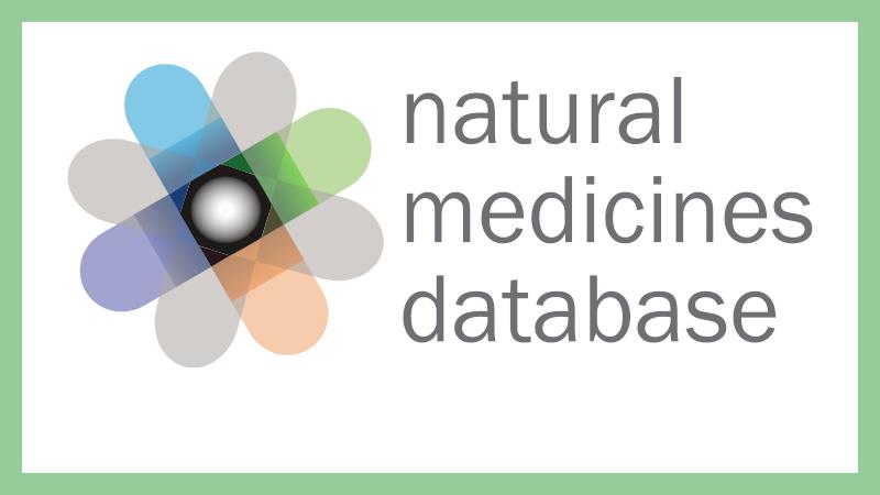 Natural Medicines Database