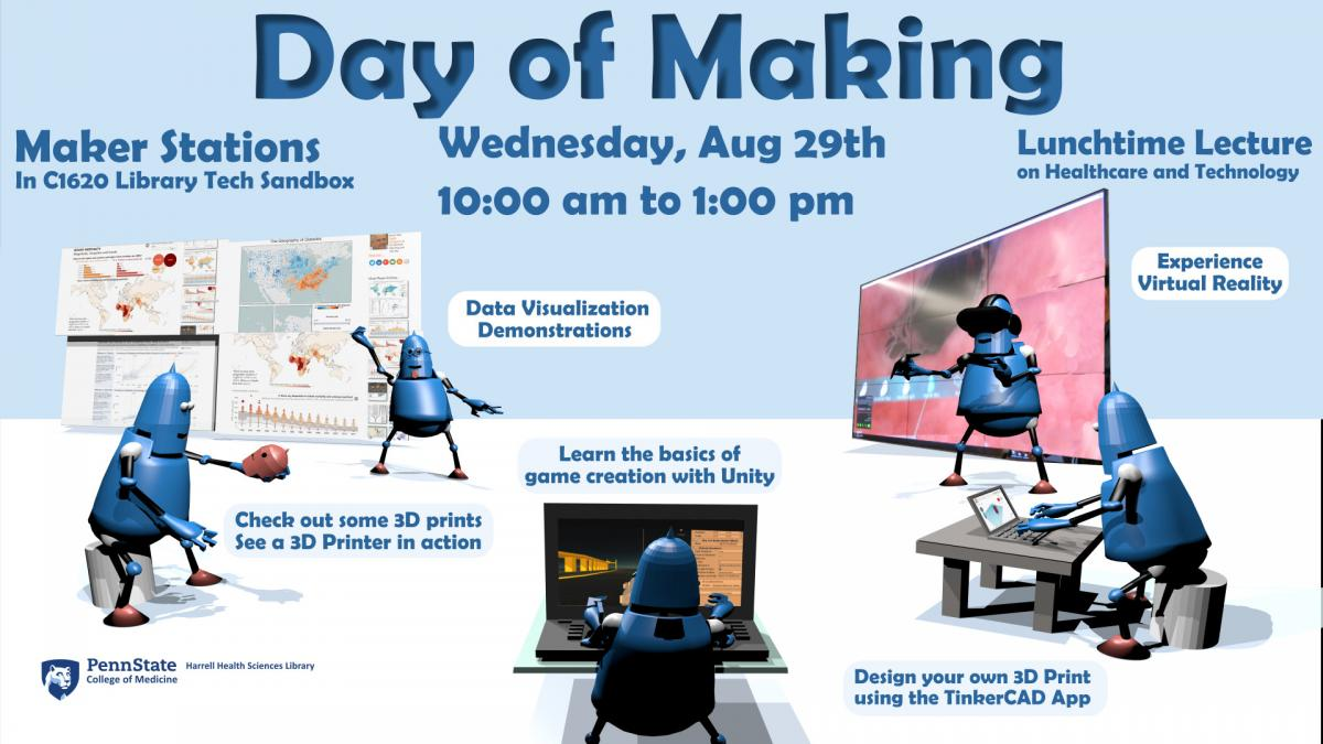 Day of Making event announcement