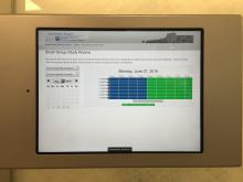 Self-Service Scheduling iPads
